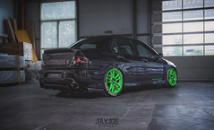 MITSUBISHI EVO 9 (JAYJOE.MEDIA) Tags: mitsubishi evo 9 low lower lowered lowlife stance stanced bagged airride static slammed drift driftcar racecar becauseracecar