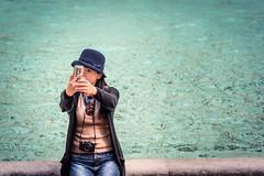 Oh yeah! (robertofaccenda.it) Tags: arte fontanaditrevi fotografiadistrada holydays italia lacitteterna lazio monument monumento roma rome selfie streetphotography streetphoto travel trip vacanze vacation viaggi