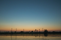 Sunset of My Country ( aikawake) Tags: sunset country countryside gradients scenery landscape beautiful awesome reflection mirror gorgeous pretty wonderful magichour      ricohgr  glorious glory