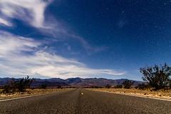 Night in Death Valley (C McCann) Tags: deathvalley california desert night road stars moonlight longexposure roadtrip usa unitedstates america