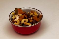 26 fruit & nut bowl (Jill Wbg) Tags: driedfruitnutsfruit cashew apricot pepitas sultanas bowl