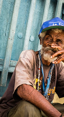 (ross_123) Tags: cuba latin central centro america travel photography fuji x xf 27mm pancake lens 28 f28 man cuban smoking cigar smoker tobacco trinidad candid street hat old beard grey ngc