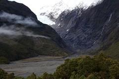 Magnificent Franz Joseph (wisnesky1) Tags: snow mountainside mountain glacier nz nature newzealandbush rocks outdoor outside canon