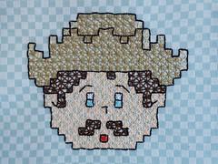 5 (AneloreSMaschke) Tags: bordado tecido xadrez artesanato menino caipira handmade