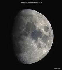 A Bit of A Blue Moon! (Ralph Smyth) Tags: moon tranquility serenity titanium lunar