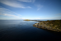 DSC_3634be (Katinka Irrlicht) Tags: sea meer nikon d750 walimex pro 14mm going by boat ferry fhre leaving harbour coast skandinavien scandinavia norway public transport andless view horizont horizon