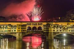 Firenze Giugno 2016 (Pucci Sauro) Tags: toscana firenze fuochidisangiovanni pontevecchio