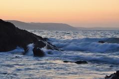 first waves of morning (mark1830) Tags: waves seaton looe kernow cornish sunrise early rocks