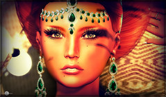 Dual tone Sheherazade (MISS V ANDORRA 2016 - MISSVLA ARGENTINA 2017) Tags: moondance jewels jewelry jewellery bijoux parures portrait pileup woman avatar secondlife hairs face fashion designer headmesh mesh roxaanefyanucci lesclairsdelunedesecondlife lesclairsdelunederoxaane flickr beauty luxe redhairs style styling tone fantasy models topmodel runway shopping addict marketplace blog blogger creativity france catwa blushskins euphoric