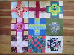 Blocks 1-9 -  Freespirited City Sampler (julielou41) Tags: annamariahorner amybutler joeldewberry citysampler 100days100blocks