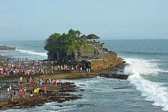 Pura Tanah Lot, Bali (cpcmollet) Tags: temple sea bali indonesia asia culture arquitectura nature architecture hinduism travel vacation holiday tanahlot nikon ocean indonesian balinese beautiful exotic tourist trip adventure asian tourism landscape mar spiritual awesome