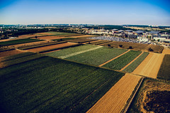 Almost minus the red (Melissa Maples) Tags: stuttgart germany europe nikon d5100   nikkor afs 18200mm f3556g 18200mmf3556g vr aerial countryside fields farms skyline green
