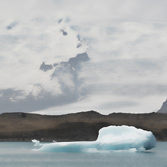 Extract of Iceland (a.penny) Tags: iceland island apenny bleach bypass nikon d7100 square quadrat 1x1 500x500 glacier gletscher eisberg iceberg lake jkulsrln vatnajkull breiamerkursandur