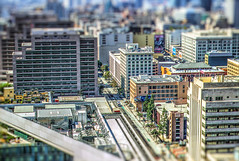 3rd and Spring Streets Tilt Shift (Michael F. Nyiri) Tags: california urban cityscape southern los angeles city downtown dtla architecture tiltshift