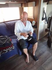 2016-08-28 Burning Man (146) (MadeIn1953) Tags: burningman 2016 201608 20160828 blackrockcitybrc blackrockdesert bm brc desert nevada bm2016 brc2016 burningman2016 430j ourcamp people pete fr3 rv