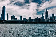 Chicago skyline (Pr@tim - Trying something new :)) Tags: chicago skyline pratim pratimbiswas lake michigan city skyscrapper highraise