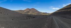 Payunia, otro planeta (marianoerro) Tags: payunia mendoza argentina volcn volcnmorado paisaje landscape desierto desert pano panorama
