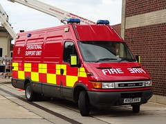 Bedfordshire Fire And Rescue Service (999 Response) Tags: kempston 3 kv03xvs bedford fire station open day 2016 bedfordshire and rescue service iveco daily
