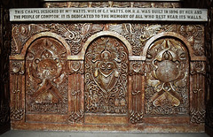 Watts Cemetery Chapel - Surrey (Mark Wordy) Tags: wattsmortuarychapel artnouveau gothicrevival compton surrey wattsgalley wattscemeterychapel alter