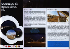 Baja Gyalogos- s Kerkpros Hd; 2015, Bcs-Kiskun co., Hungary (World Travel Library) Tags: baja gyalogos kerkpros hd walking cycle bridge brcke 2015 bcskiskun hungary magyarorszg world travel center worldtravellib holidays tourism trip vacation brochure papers prospekt catalogue katalog photos photo photography picture image collectible collectors collection sammlung recueil collezione assortimento coleccin ads online gallery galeria touristik touristische documents dokument broschyr esite catlogo folheto folleto   ti liu bror