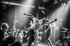 Sick Of It All (morten f) Tags: sick it all live bl blaa oslo norway norge hardcore music punk rock new york nyhc soia stage show 2015 european tour europe black white lou koller craig pete dive audience club blackandwhite monochrome people mosh slam dance