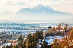 Austria, Salzburg - Winter Chill (Nomadic Vision Photography) Tags: cold fortresshohensalzburg winter atmospheric austria austrianalps austrianwinter gettysub salzberg salzburg winterwonderland