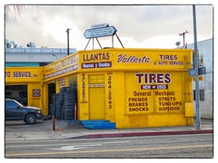 Vallarta Tires - Alhambra, CA (gastwa) Tags: california street city urban color digital canon point los shoot angeles ps andrew powershot spanish alhambra pointshoot compact s100 gastwirth andrewgastwirth