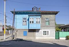 Sulina 2012 (Alexandra Timpau) Tags: wood houses house facade romania sulina danubedelta deltadunarii