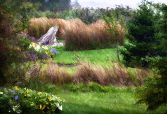 Historic Gardens of Annapolis Royal (ramllep) Tags: texture grass garden landscape novascotia rainyday digitalart legacy artdigital greenscene trolled daarklands magicunicornverybest mygearandme netartii galleryoffantasticshots artcityart creativephotocafe