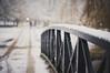 Crossing (MMortAH) Tags: york winter snow campus 50mm nikon university yorkshire 14 north nikkor afs d90