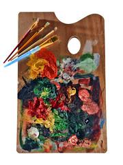 Tools of the Trade (John Adkins II) Tags: paint artist brush palette 2012 nikonsb800 nikon18200vr strobist nikoncls nikond300 theartistseyes louisvillestrobist johnadkinsphotography jennleefreelanceartist