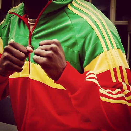 The Adidas Originals Ethiopia Track Top by a