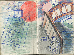 """Rough for painting of camden lock • <a style=""""font-size:0.8em;"""" href=""""http://www.flickr.com/photos/91814165@N02/8424407444/"""" target=""""_blank"""">View on Flickr</a>"""
