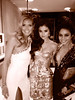 Heidi Klum Posted this Image of herself, Selena Gomez and Vanessa Hudgens on Twitter with the caption 'Ran into two of the most beautiful girls of the night, @VanessuHudgens and @SelenaGomez #GoldenGlobes