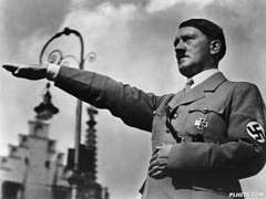 IH173046 (kurtissextrememan) Tags: portraits nazis males prominentpersons government leaders communications germans europeans fascists chancellors saluting dictators governmentofficials politicalleaders westerneuropeans austrians eurasians headsofstate nationalheadsofstate ideologicalroles hitleradolf