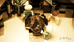We need to run more tests. (3rd-Rate Photography) Tags: canon insect toy 50mm lego florida action doctor 7d figure jacksonville nurse minifig larva toyphotography earlware 3rdratephotography palmettoweevilgrub