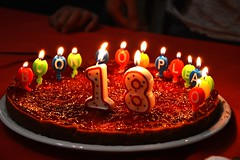 Happy B-day (Alan Riot Soriano) Tags: birthday cake happy bro 18 compleanno torta candele buon fratello