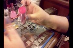 Carimbando Sem Lambreca (!S .!) Tags: art para nail stamp nails plates nailpolish placa unhas carimbo esmalte