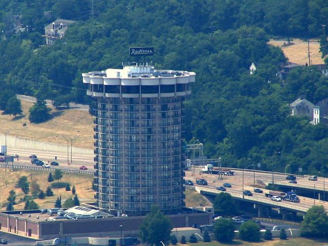 Cincinnati From Above #16: Radisson Hotel Riverfront
