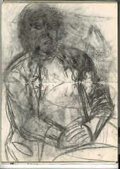 "Figure in charcoal,and pencil • <a style=""font-size:0.8em;"" href=""http://www.flickr.com/photos/91814165@N02/8460067081/"" target=""_blank"">View on Flickr</a>"