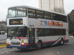 First Glasgow Volvo Olympian 31492 Glasgow 12/02/13 (David_92) Tags: volvo glasgow first alexander royale ehs olympian 31492 r149 r149ehs