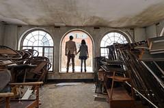 looking (jesiiii) Tags: urban building abandoned hospital found midwest paint alone pittsburgh pennsylvania empty exploring institute explore peel left exploration mental urbex urbanex