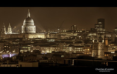 London Skyline (esslingerphoto.com) Tags: city longexposure greatbritain bridge england building london church architecture night canon photography eos evening europe exposure cityscape shot nightshot britain capital great stpauls architectural single 5d nightshots southwark mkii esslinger esslingerphotocom