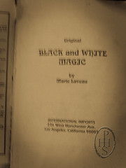 Black and White Magic by Marie Laveau (103) [mobile phone pics] (PHH Sykes) Tags: white black marie magic laveau