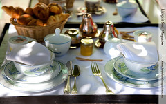 Breakfast at La Bonne Etape (Scrumptious Venus) Tags: france provence hauteprovence labonneetape lespritsudmagazine chteauarnoux janygleize wwwlespritsudmagazinecom