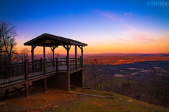 Bench overlook (AHMAD AL-ABDAN |  ) Tags: usa mountain me america canon landscape eos flickr mt ar picture taken follow 7d arabia arkansas ahmad scape ahmed rt edit russellville facebook nebo  d7  abdan     twitter 2013          amendo alabdan 7