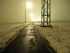 Misty Winter Mood (Habub3) Tags: street travel schnee winter light holiday snow misty canon germany deutschland licht reisen europa europe mood nebel stuttgart urlaub vacanze weg g12 strase habub3