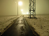 Misty Winter Mood (Habub3) Tags: street travel schnee winter light holiday snow misty canon germany deutschland licht search reisen europa europe mood nebel stuttgart urlaub vacanze weg g12 serach strase habub3