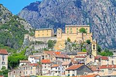 Citadelle de Corte (Windofsardinia) Tags: travel holiday canon corse corte corsica 7d citadelle corti