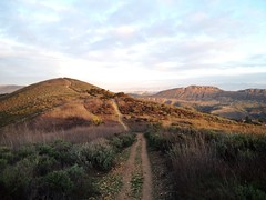 On the trail (Night Owl City) Tags: california usa sunrise trail venturacounty thousandoaks conejovalley uploaded:by=flickrmobile flickriosapp:filter=nofilter